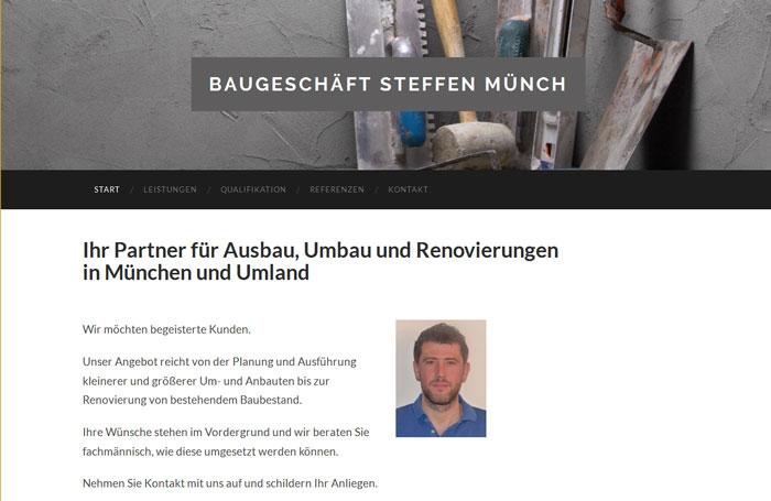Baugeschäft Münch