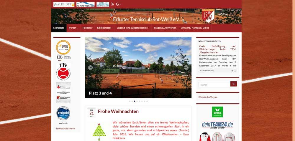 Erfurter Tennisclub Rot-Weiss e.V.